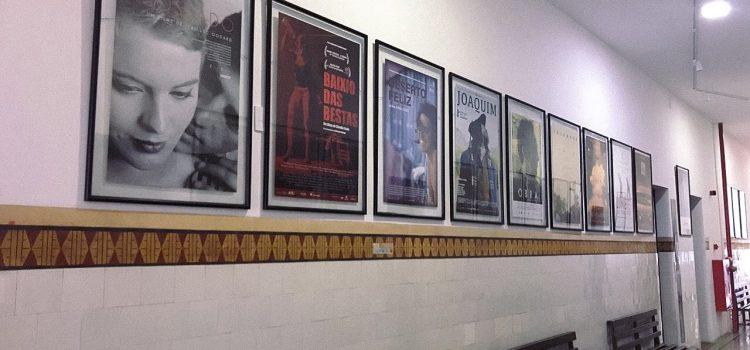 Cartazes no Cinema