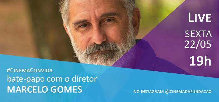 Marcelo Gomes é o próximo entrevistado do Cinema Convida