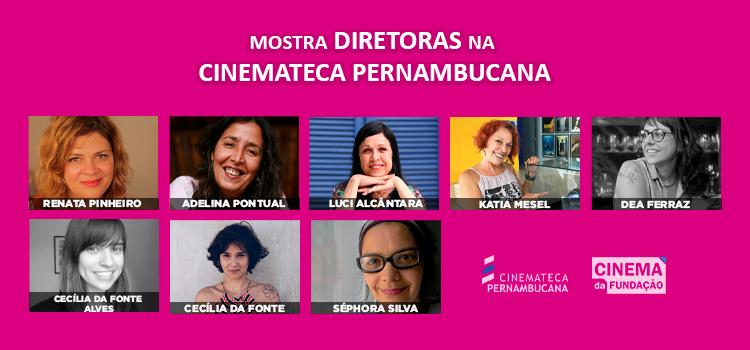 Cinemateca Pernambucana lança mostra em homenagem ao Dia Internacional da Mulher